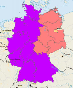 Germany East/West Divide
